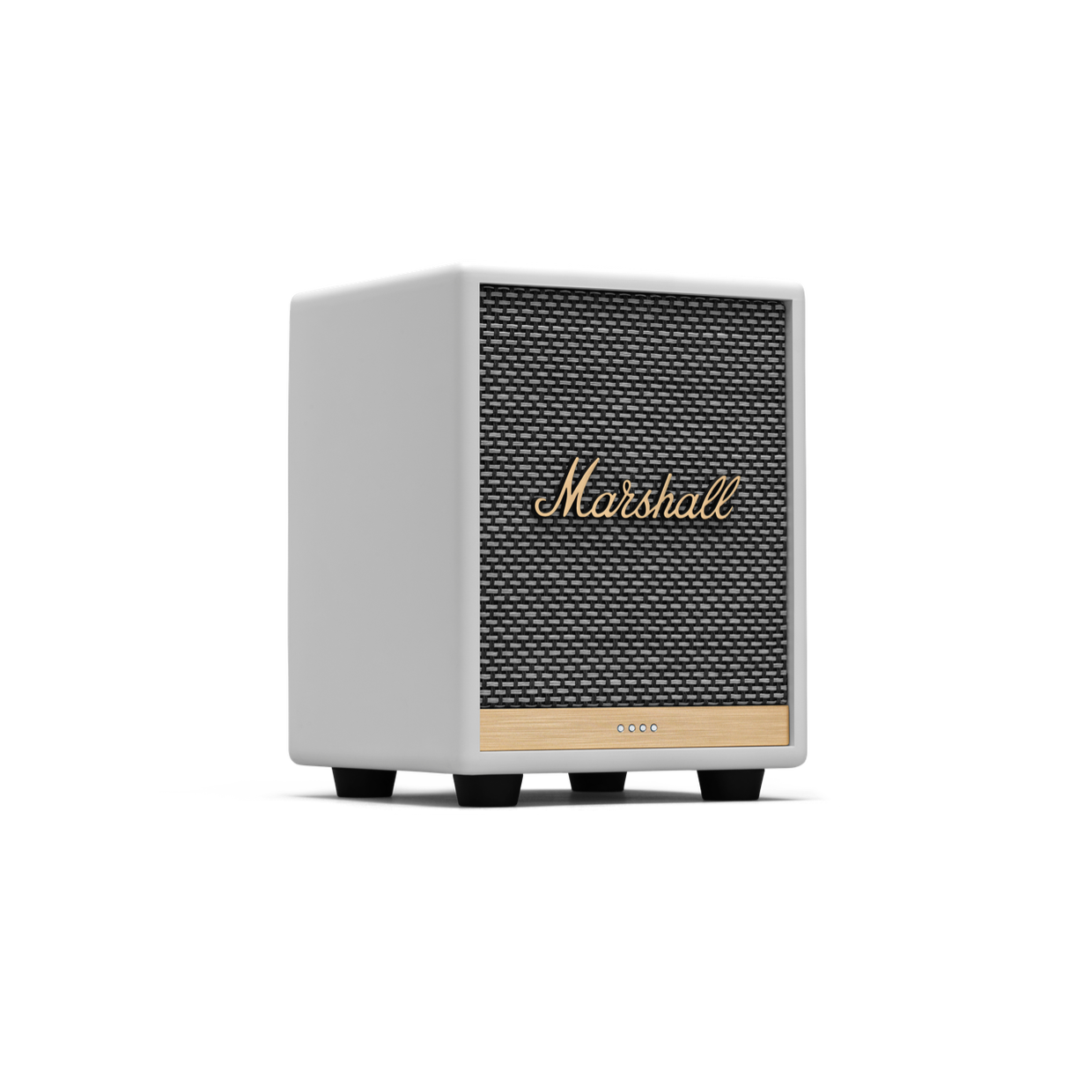 MARSHALL UXBRIDGE VOICE WITH THE GOOGLE ASSISTANT SPEAKER - WHITE