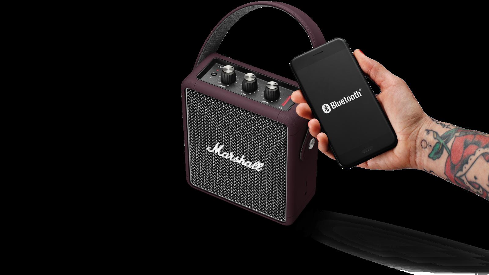 Análisis Altavoz Marshall Stockwell II Bluetooth
