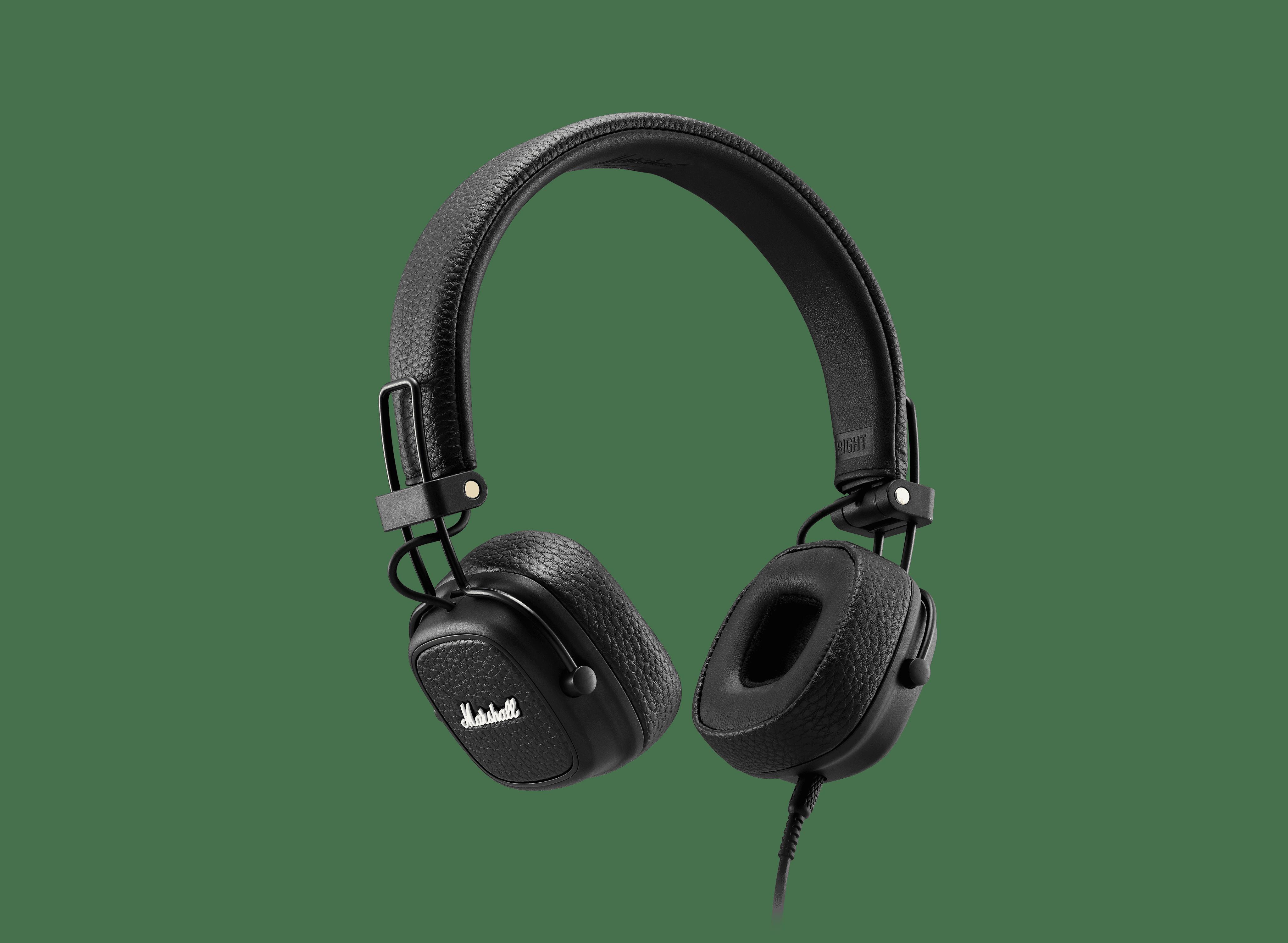 Marshall Major III Wired On-Ear Headphones with Mic