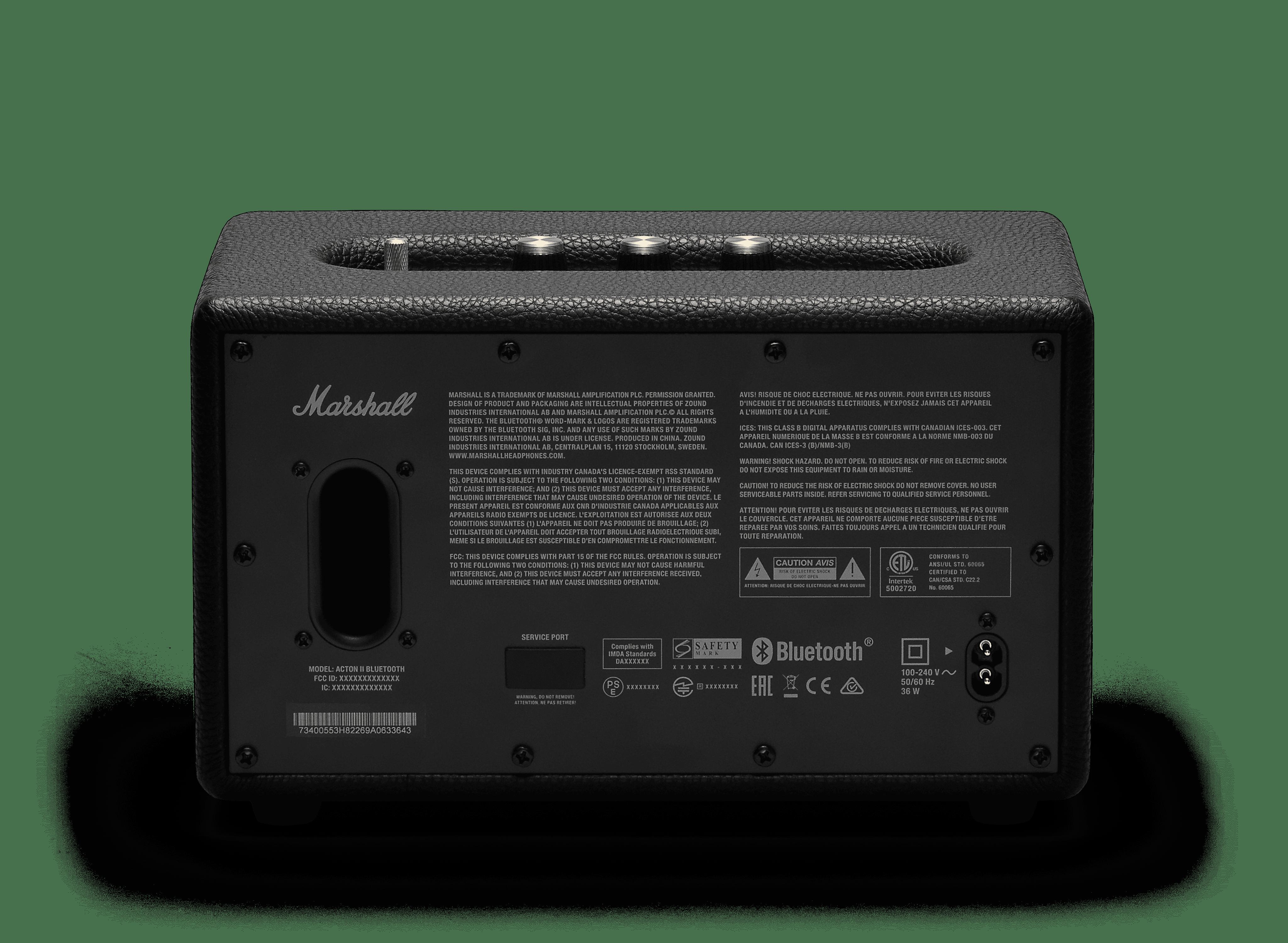 Marshall Acton 50W Wireless Bluetooth Home Speaker Black